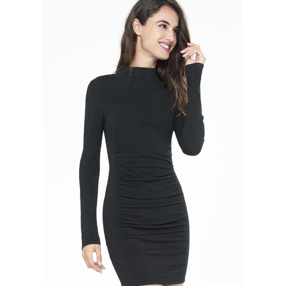 3983c3a7be Express Dresses   Skirts - Express mock neck sweater dress - black